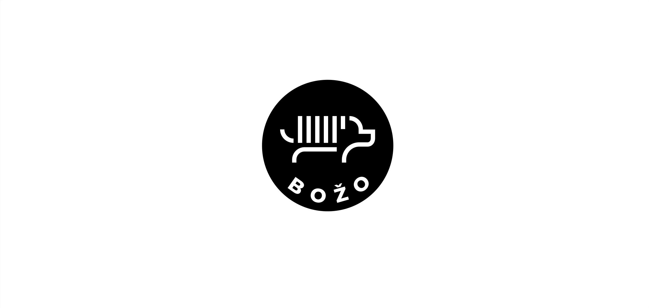 logotipas šunų kirpyklai bozo
