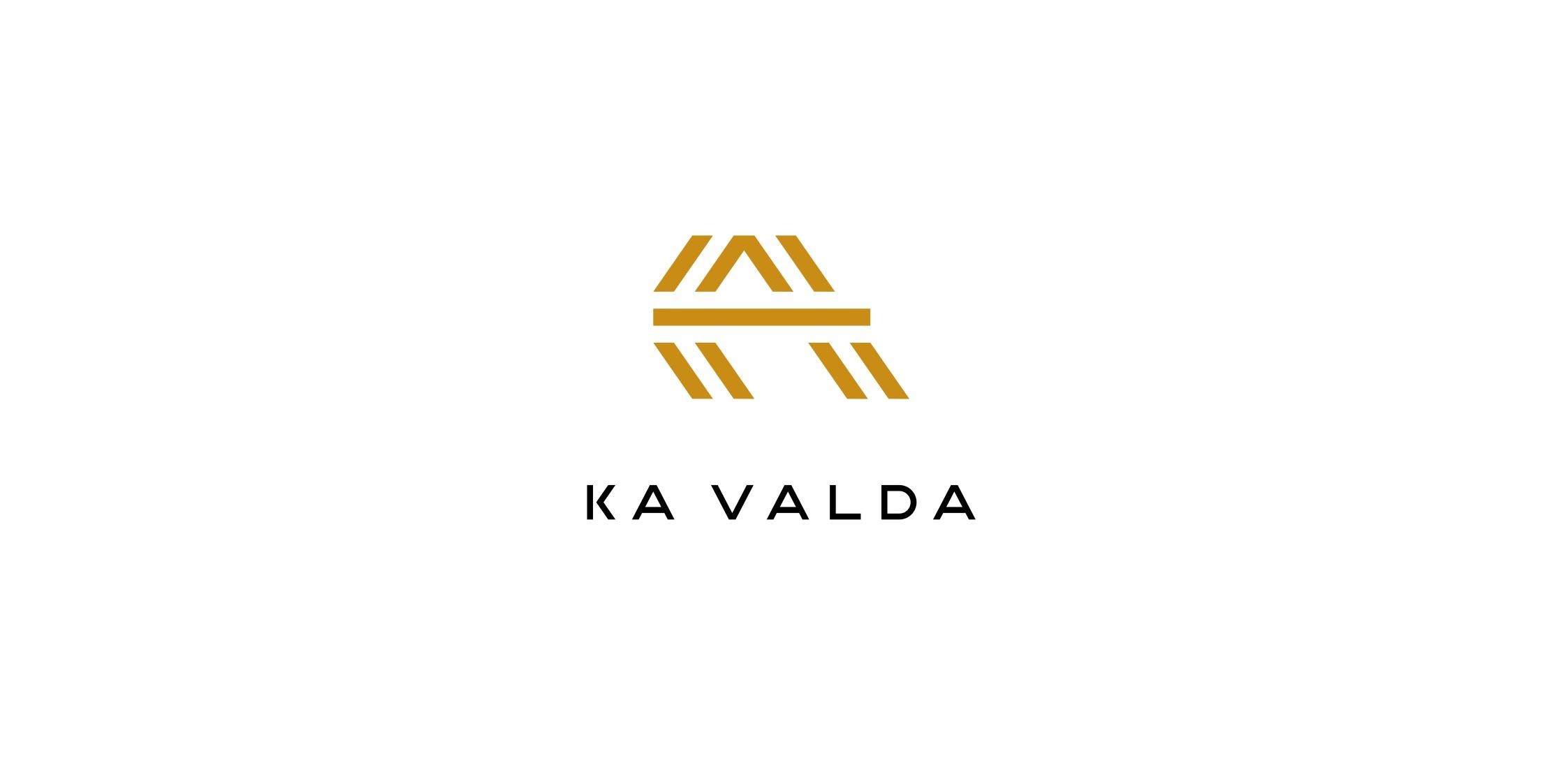 logotipas nekilnojamojo turto vystymo įmonei ka valda
